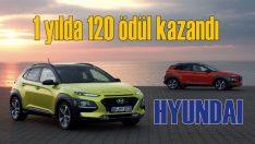 Hyundai modelleri 2018'de 120 ödül kazandı