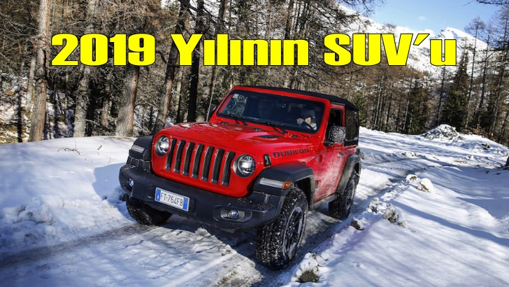 2019 yılının SUV'u: Yeni Jeep Wrangler
