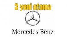 Mercedes'te üç atama birden