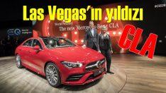 Mercedes'in Las Vegas yıldızı CLA oldu!