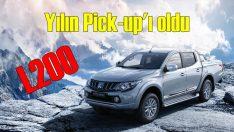 Pick-up'ın lideri: Mitsubishi L200