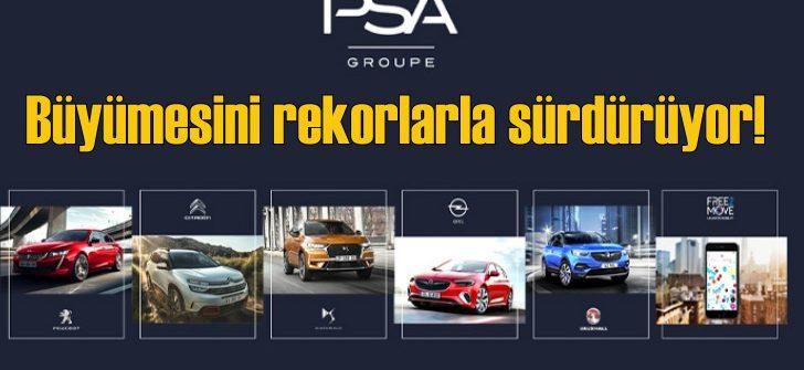 PSA Grubu büyümesini rekor kırarak sürdürüyor!