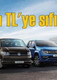 Volkswagen Ticari Araçlar'da 60 bin TL'ye sıfır faiz fırsatı