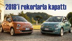 Fiat 500, 2018'i yeni bir rekorla kapattı!