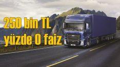 Ford Trucks'ta 250 bin TL'ye sıfır faiz
