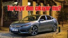 Honda, Türkiye'den çıkıyor mu?