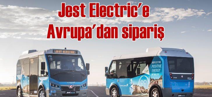 Karsan'ın elektriklisi Jest Electric'e 18 adet sipariş geldi