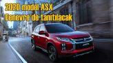 2020 model Mitsubishi ASX'in lansmanı Cenevre'de yapılacak