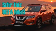 Nissan'da şampiyonlara sıfır faiz desteği!