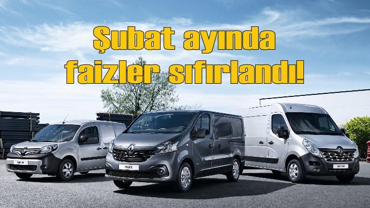 Renault ve Dacia'da Şubat ayında sıfır faiz fırsatı!