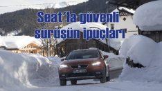 Jordi Gene, karlı yollarda güvenli sürüş için direksiyona geçti
