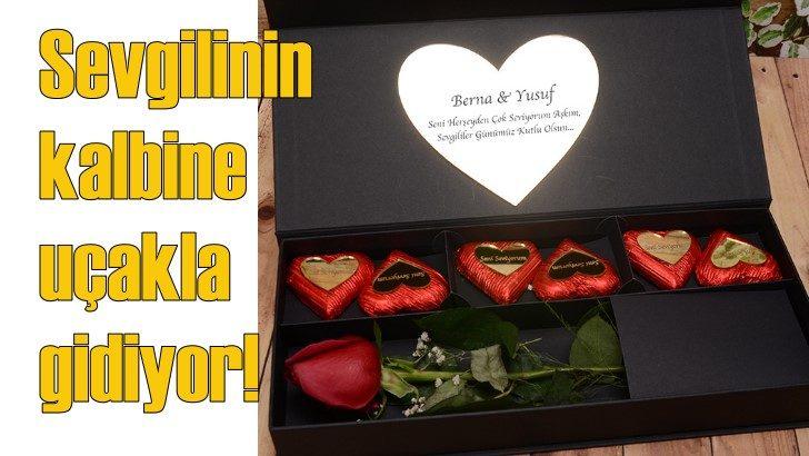 Türk çikolatası sevgililerin kalbine uçarak girecek