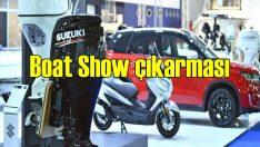 Suzuki'nin çevreci modeli ilk kez Boat Show'da
