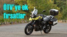 Suzuki Motosiklet'te ÖTV'ye ek indirim başladı!