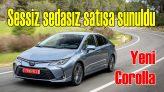 2019 Toyota Corolla satışa sunuldu