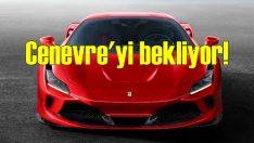 Ferrari F8 Tributo Cenevre'de sahneye çıkıyor!