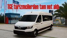 Turizm taşımacılarından MAN TGE'ye tam not!