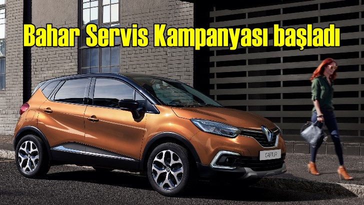 Renault ve Dacia'da servis kampanyası başladı