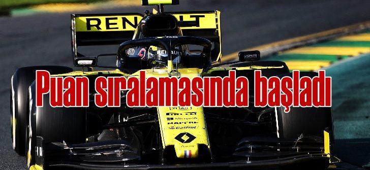 Renault Avustralya'dan puanla döndü, şimdiki hedef: Bahreyn