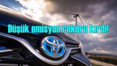 En düşük emisyon oranlarına sahip marka Toyota oldu