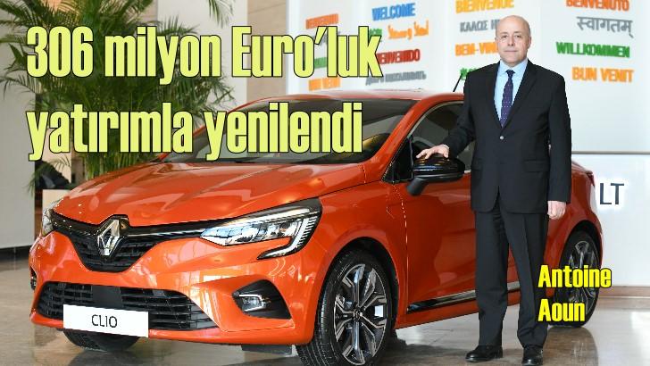 306 milyon Euro yatırımın eseri: Yeni Clio