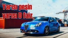 Alfa Romeo Nisan ayında sıfır faiz fırsatı sunuyor