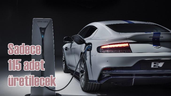 Elektrikli Aston Martin Rapide E'nin menzili 500 kilometre
