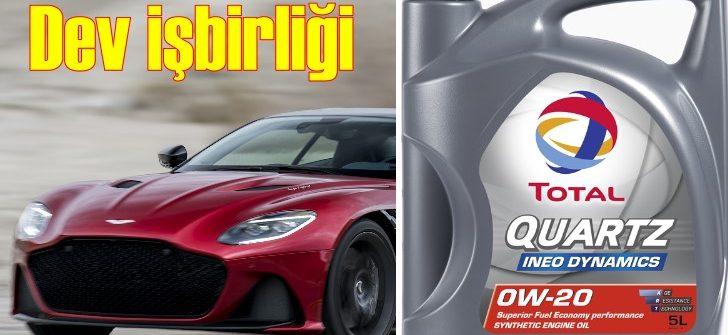 Aston Martin ile Total'den işbirliği