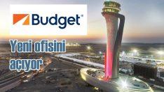 Budget İstanbul Havalimanı'nda ofisini açıyor