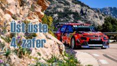 Citroen C3 WRC'den üst üste dördüncü zafer
