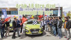 Hyundai Kona artık 1.6 litrelik dizel motoruyla yollarda!