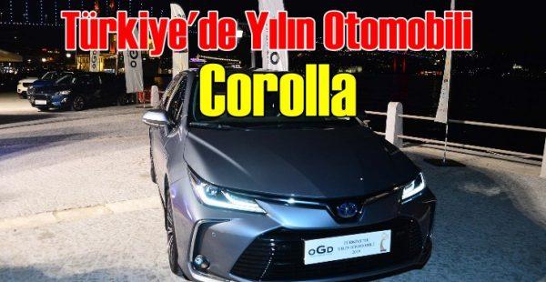 Türkiye'de Yılın Otomobili: Toyota Corolla