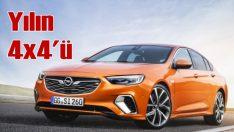 Yılın 4 tekerlekten çekişli otomobili: Insignia