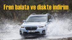 Subaru'da fren balata ve disklerde yüzde 20 indirim