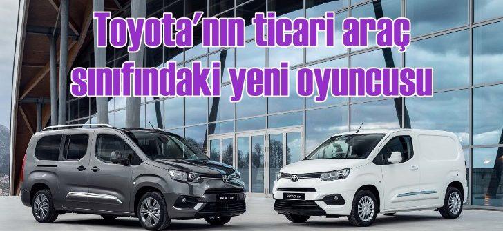Toyota Proace City sahneye çıkıyor