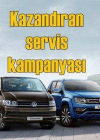 Garantisi biten Volkswagen Ticari Araçlara servis indirimi başladı!