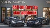 640 bin Euro'luk Aston Martin DB11 V12 AMR İstanbul'da!