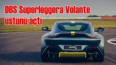 Aston Martin'in en hızlı üstsüzü
