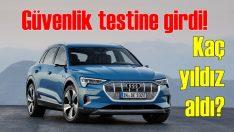 Audi e-tron EuroNCAP'ten kaç yıldız aldı?