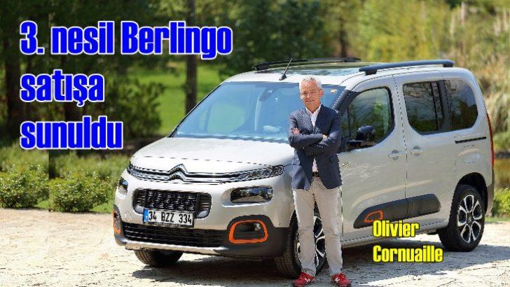Üçüncü nesil Citroen Berlingo 99 bin TL'den satışa sunuldu