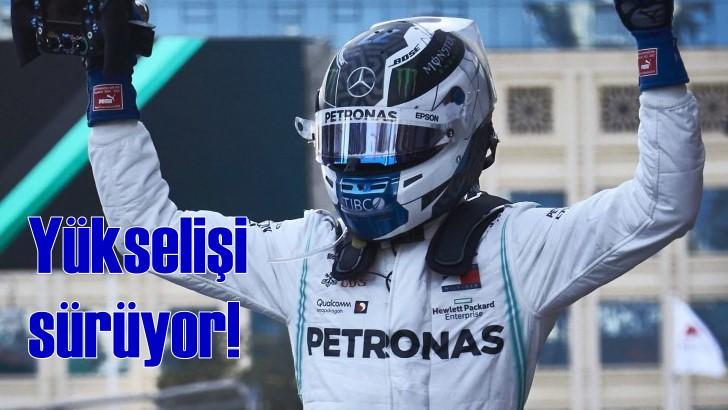 Valtteri Bottas'ın F1'deki yükselişi devam ediyor