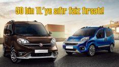 Fiat'ta 50 bin TL'ye sıfır faiz fırsatı!