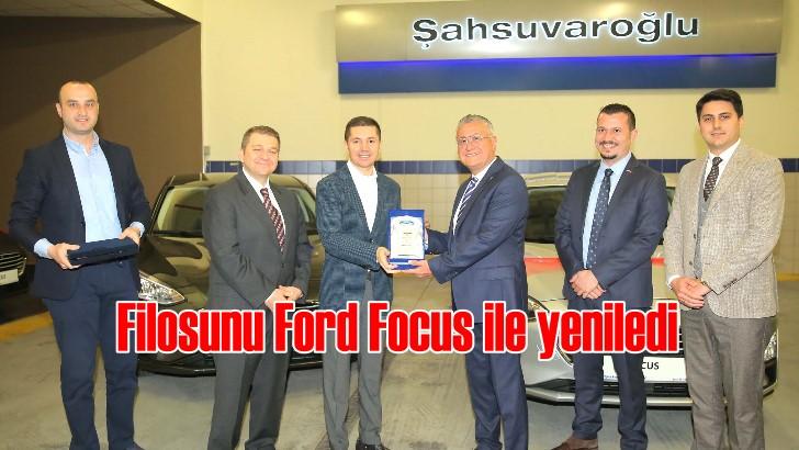Şahsuvaroğlu'ndan Ekol Lojistik'e 131 adet Ford Focus