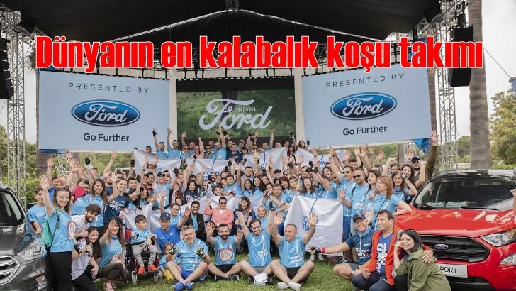 Ford Team 2.274 kişiyle dünyanın en kalabalık koşu takımı oldu