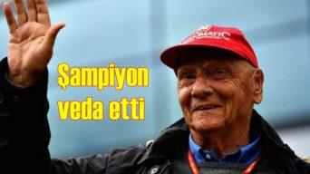Formula 1'in efsane pilotu Niki Lauda hayatını kaybetti