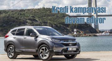 Honda Civic ve CR-V'de kredi kampanyası devam ediyor