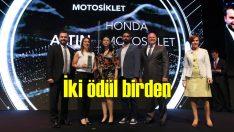 Honda Türkiye'ye iki ödül birden