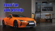 Lexus'tan yeni bir prototip: LC 500h 'Matte Prototype'
