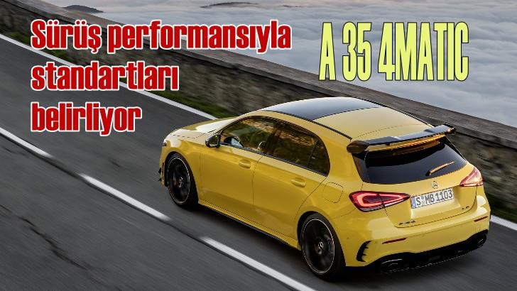 Yeni Mercedes-AMG A 35 4MATIC 532 bin TL'den satışa sunuldu