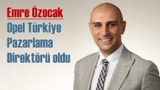 Opel Türkiye'de pazarlama direktörü ataması yapıldı